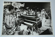 Cuban Photograph.CHUCHO VALDES playing piano during Jazz Plaza 1998.Irakere.