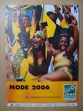 WORLD CUP 2006- MODE 2006 (GERMANY DEUTSCHLAND): Sport Postcard