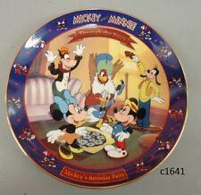 Disney Mickey & Minnie Through the Years Mickey's Birthday Party 1942 1st Series