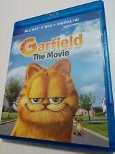 Garfield: The Movie Bluray + DVD Free Shipping! Bill Murray