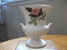 Wedgwood Hathaway Rose bone china miniature vase