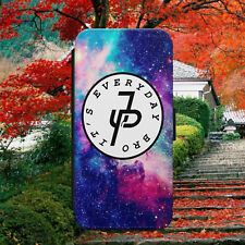 JP CROSS/JAKE PAUL/SPACE/GALAXY/FLIP WALLET PHONE CASE COVER FOR IPHONE/SAMSUNG