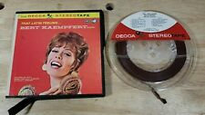 Bert Kaempfert 'That Latin Feeling' Reel To Reel Tape - Europe Recording - Decca
