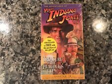 The Adventures Of Young Indiana Jones Treasure Of The Peacocks Eye Sealed Vhs!