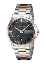Gucci Unisex G-timeless 38mm Two Tone Steel Bracelet Quartz Watch YA126446