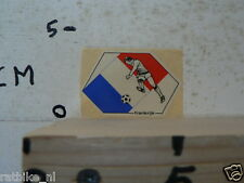 STICKER,DECAL FRANKRIJK FRANCE VOETBAL SOCCER