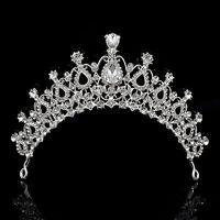 Crown CombCrystal Bridal Wedding Rhinestone Hair Headband  Tiara Prom Pageant