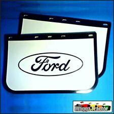 MFL3505 2x Ford F D L Truck Mud Flap Flaps Mudflaps 22x14 22in Wide 14in Drop