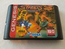 ULTRA RARE Sega Megadrive game Streets of Rage 3 - Sonic Hack - NTSC - SPRITE