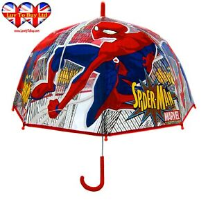 Spider-Man Transparency Umbrella ,Kids Umbrella ,Officially Licensed