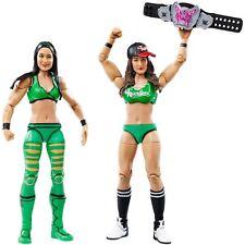 WWE Brie Nikki Bella Gemelos cinturones BATTLE PACK MATTEL SERIE 38