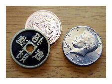 Copper Silver Brass Coin Magic Trick - 5 Coin CSB Set - Precision Made in USA