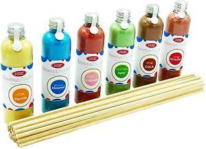 (18,08 EUR/kg) Partyset 6 x 230 g Zuckerwatte Zucker für Zuckerwattemaschine