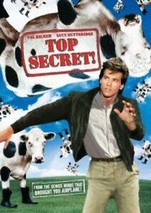 TOP SECRET NEW DVD