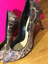 River Island Animal Snake Print VGC Worn Once In Box With Spare Heels Uk4 (37)