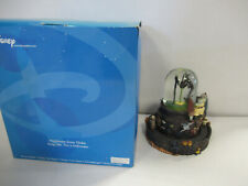 """NIGHTMARE BEFORE CHRISTMAS Snowglobe """"This is Halloween"""" Disney Store WORKS! ZQ"""