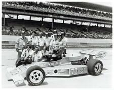 Salt Walther 1970s Indy 500 Original 8x10 Photo Dayton Walther Team 77 Race Car