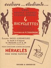 Buvard Vintage  Ecoliers   Etudiants Cahier Héraklès