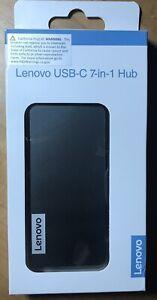 New Lenovo USB-C 7-in-1 Hub - 10