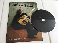 Steve Saluto - Resurrection - Richie Kotzen Vocals on 6 Tracks - Black Promo CD