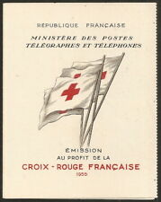 France 1955 Carnet Croix-Rouge N°2004 NEUF ** LUXE