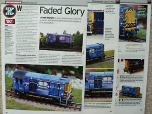 Weathering a Bachmann Class 09 Mainline livery - Model Rail magazine article