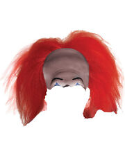 Adult's Mens Stephen King It Pennywise Horror Clown Headpiece Costume Accessory