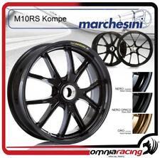 Cerchio Posteriore Marchesini Alluminio Forgiato Nero Opaco Ducati Monster S4R