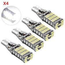 4X White T15 W16W 45SMD 4014 Canbus Error Free LED Car Reverse Backup Light Bulb