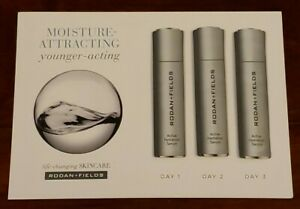 AUTHENTIC NEW RODAN+FIELDS ACTIVE HYDRATION SERUM TRAVEL SIZE SAMPLE CARD