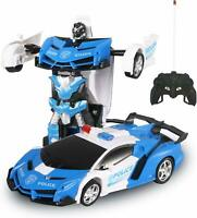 Transform Car Robot, Robot Deformation Car Model Toy for Children, Transforming