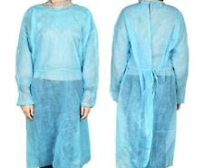 DISPOSABLE MEDICAL ISOLATION GOWN, Non Woven with Sleeves, 10 Pcs