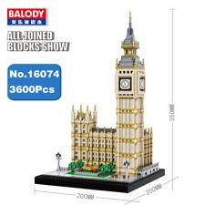 Balody Architecture Elizabeth Tower Big Ben Diy Mini Building Nano Blocks Toy