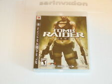 Tomb Raider: Underworld (Sony PlayStation 3, 2008) PS3 Complete + Manual