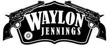 Waylon Jennings Iron On Transfer For T-Shirt & Other Light Color Fabrics #3