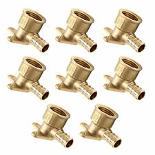 "8 PCS 1/2"" PEX x 1/2"" Female NPT  Drop Ear Elbow PEX Crimp Fittings(Lead Free)"