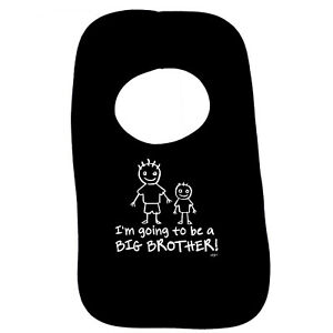 Funny Baby Infants Bib Napkin - Im Going To Be The Big Brother