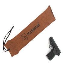 Tourbon Pistol Socks Gun Sack Handgun Sleeves Slip Cover Bag Orange Tactical USA