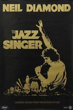 Neil Diamond 1980 The Jazz Singer Motion Picture Capitol Records Promo Poster