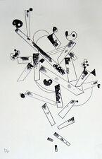 WASSILY KANDINSKY LITHOGRAPHIE CENTENAIRE IMPRESSION LITHOGRAPHIQUE MAEGHT 1966