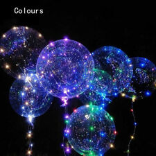LED Light Balloons Transparent Balloon Wedding Birthday Xmas Party Lights Decors