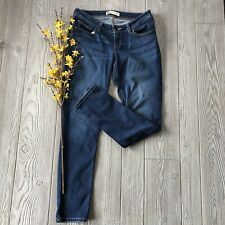 234* Levi Strauss Bold Curve Low Rise Skinny Cotton Stretch Jeans Junior's 13M