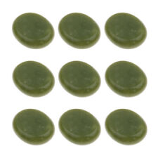 9 Pcs Large Massage Stones Jade Hot Cold Stone for Spa Massage Therapy 5x6cm