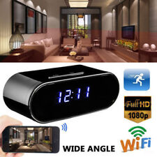 Wireless HD 1080P Hidden Spy Camera Alarm Clock IR Security Cam DVR Night Vision