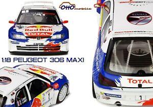 Peugeot 306 Maxi Rallye de Haute Provence - Loeb - 1/18 - neuve scellée