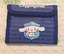 *Rare* Sanrio Cinnamoroll Wallet Nylon Blue Retired 2003