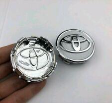 Toyota wheel centre cap, 57mm Chrome, Toyota Yaris, Corrolla FREE N FAST POSTAGE