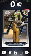 Topps Star Wars Digital Card Trader Galactic Files Rebels Hera Insert Award
