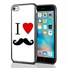 I Heart Love Mustache For Iphone 7 Case Cover By Atomic Market