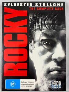 Rocky - The Complete Saga (DVD, 2010, 6-Disc Set)